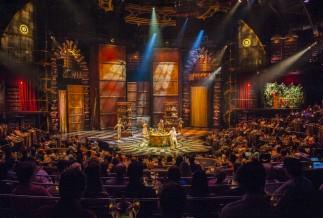 Cirque du Soleil show in the Riviera Maya