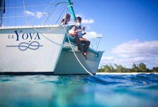 Private catamaran la bocana