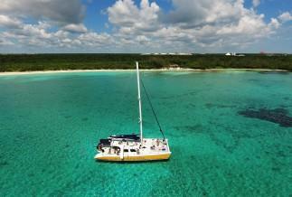 Catamaya Catamaran's in the Riviera Maya