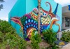 Senkoe street art at Andaz Mayakoba Riviera Maya