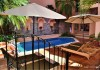 Acanto Boutique hotel courtyard and pool