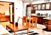 Fully equipped kitchen at Acanto Hotel