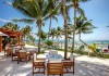 Patio Area Akumal Bay Beach Resort