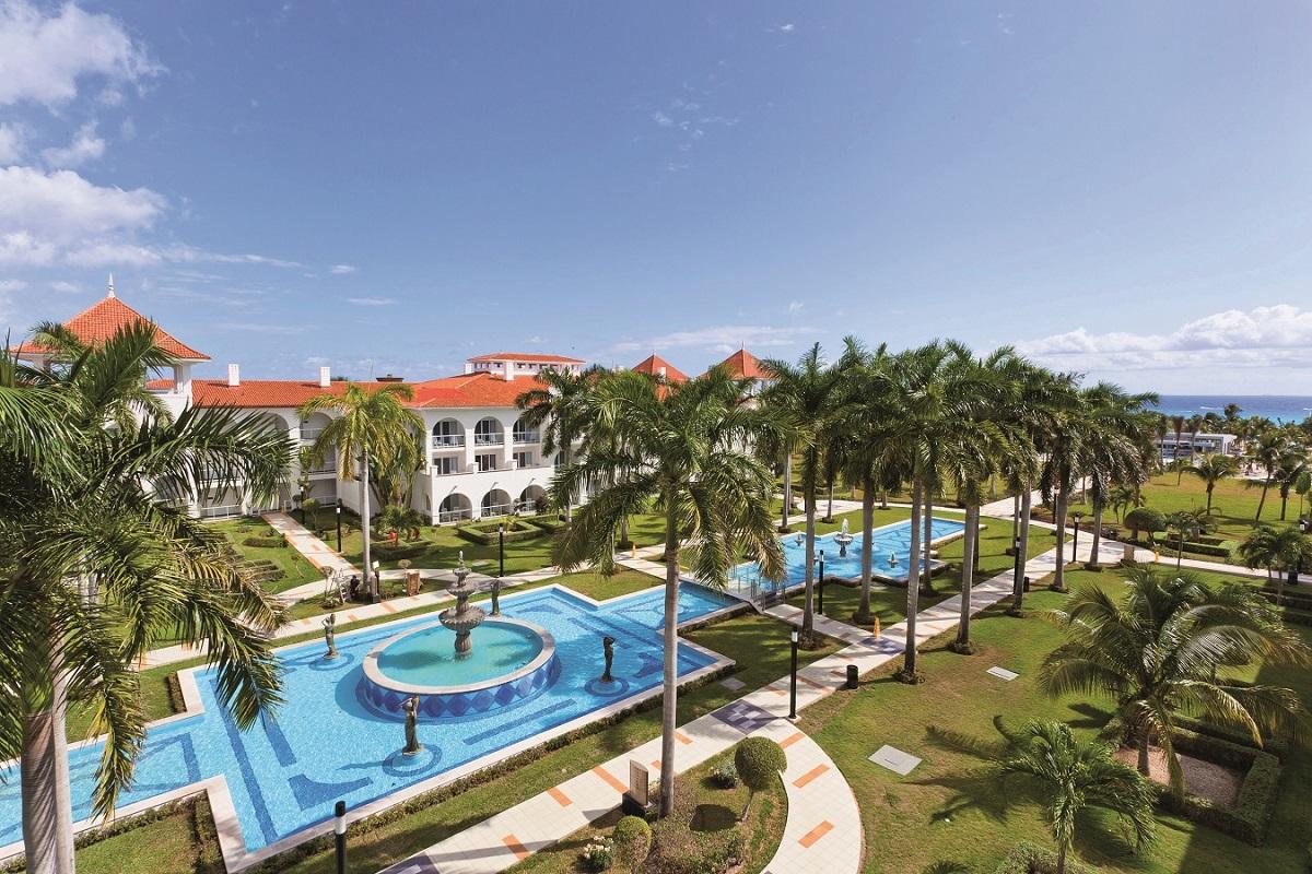 Riu Palace aerial view