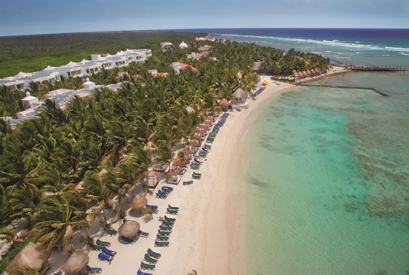 dorado seaside suites aerial view