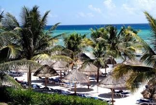 beach area Sandos Caracol Eco Resort
