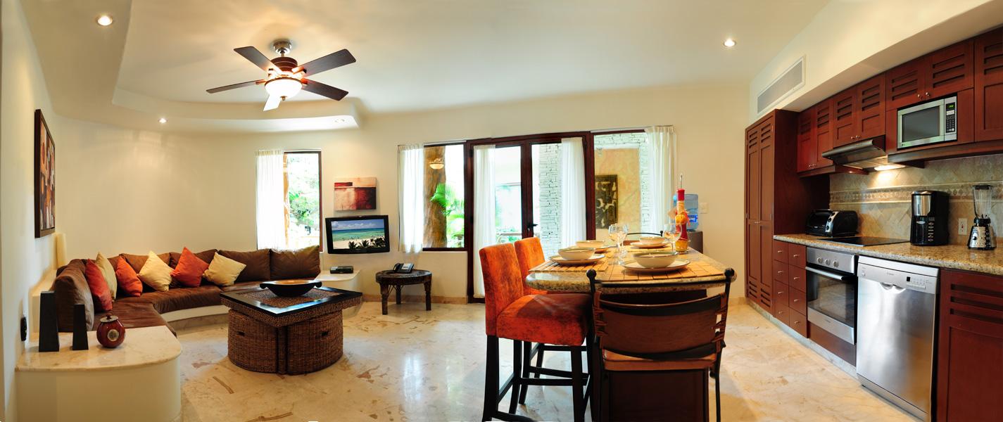 Maya Villa Condo main living room area