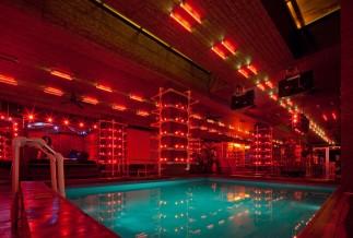 Reina Roja pool area