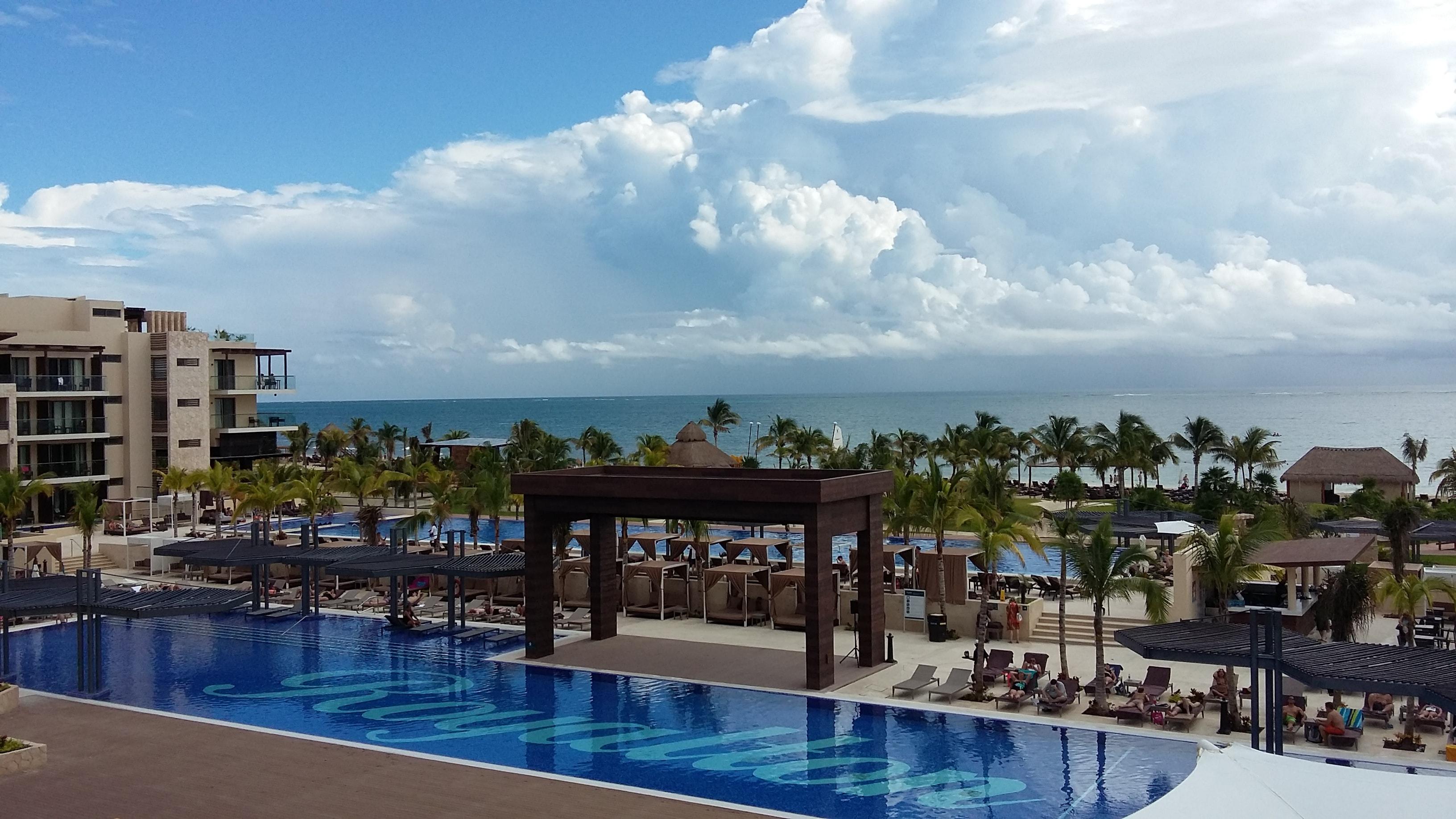 Royalton Riviera Cancun aerial view