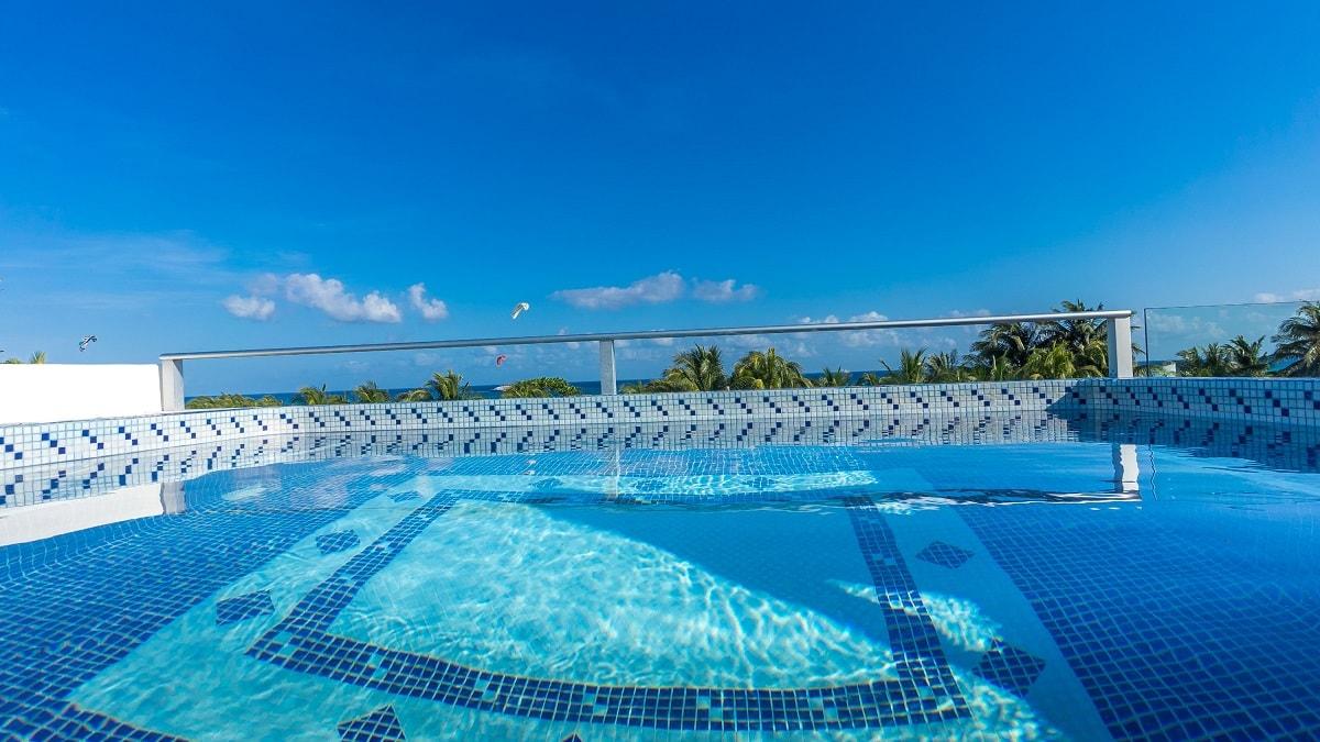 Casa de la Pescada Blanca pool